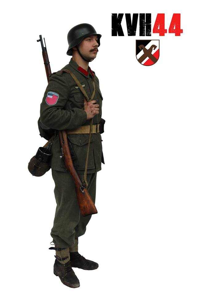 795. Ost-Battalion (Georgien) - Příklad 1
