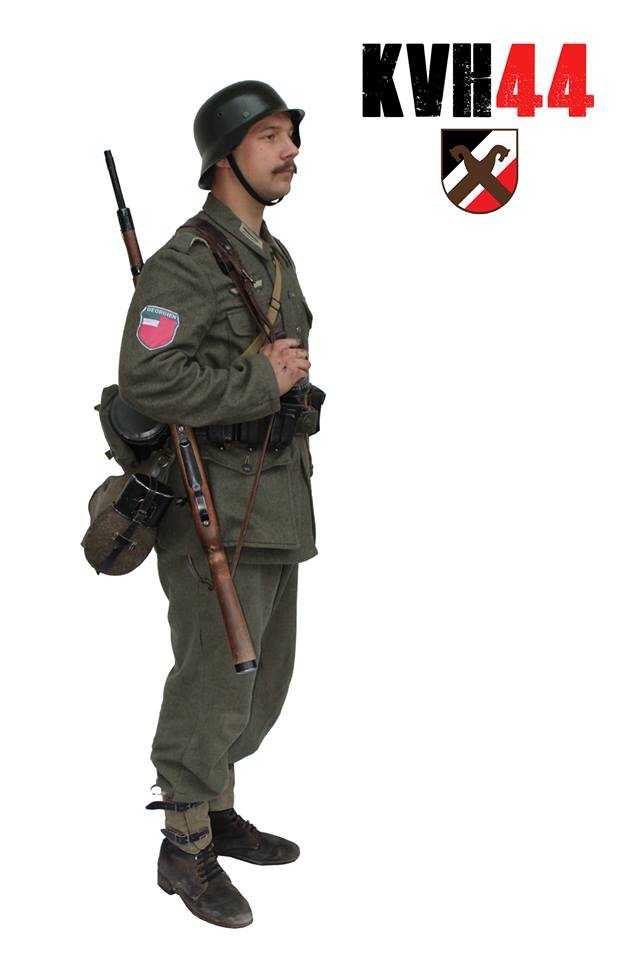 795. Ost-Battalion (Georgien) - Příklad 2